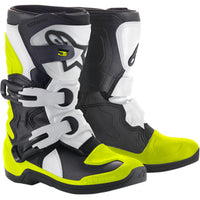 Alpinestar Tech 3S Kids Boots BLACK/WHITE/FLUO YELLOW