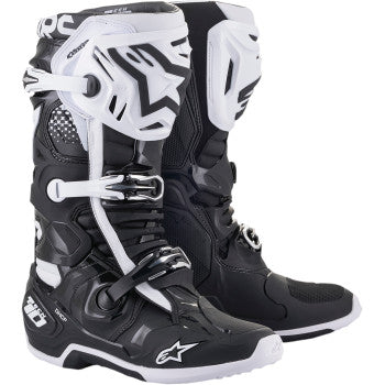 Alpinestar Tech 10 Boots - WHITE/BLACK