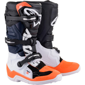 Alpinestar Tech 7S Boots - BLACK/ORANGE