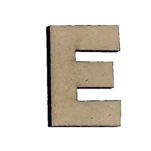 Wood Letters - ''E'' (Two Pack)