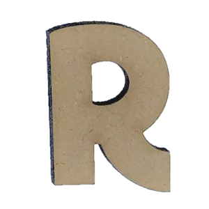 Wood Letters - ''R'' (Two Pack)