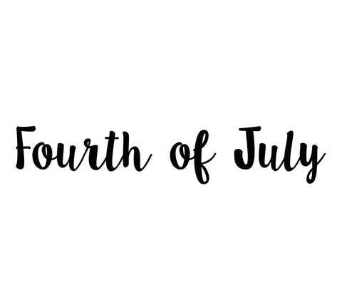 """Fourth of July"" Vinyl"