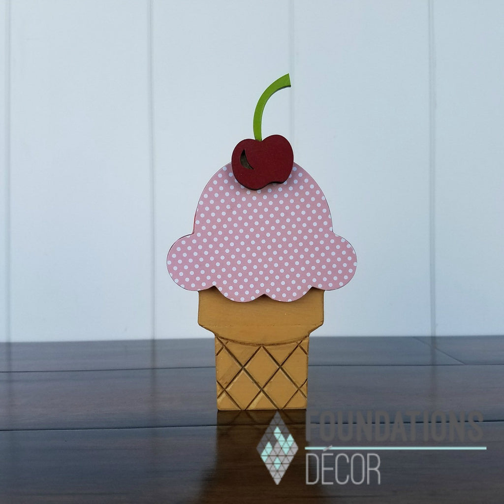 June O - Ice Cream Cone