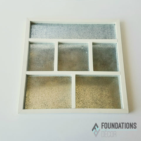 Magnetic Shadow Box - White