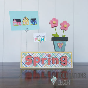 Picture Holder - Spring Complete Set