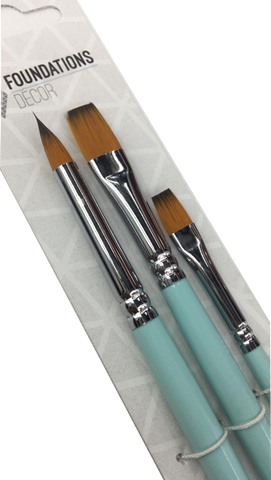 Paint Brushes - Set of 3