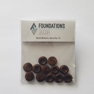 Buttons - Brown Small