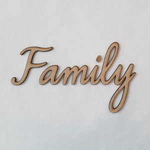 """Family"" - smooth font"