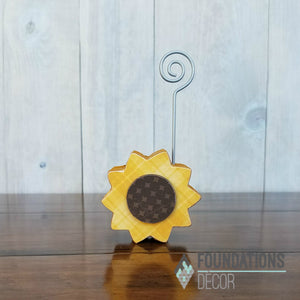 Sunflower Card Holder