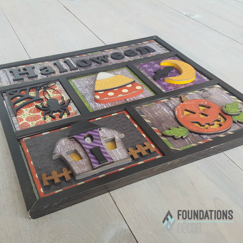 Halloween Shadow Box Kit