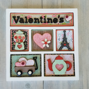 Valentine's Shadow Box Kit