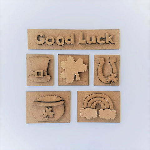 Good Luck Shadow Box Kit