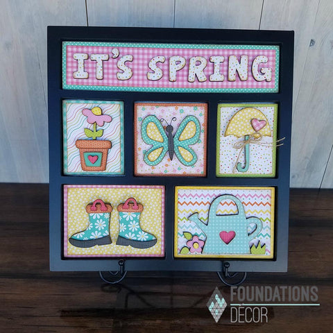 IT'S SPRING Shadow Box Kit