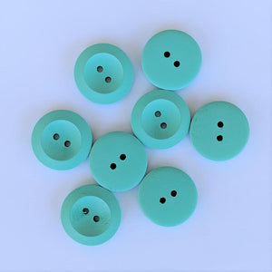 Buttons - Teal, 8 Large