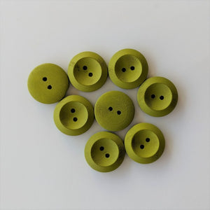 Buttons - Green, 8 Large