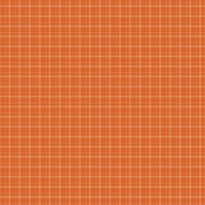 Foundation Paper - Plaid / Dots - Orange