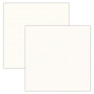 Foundation Paper - Plaid / Dots - Cream