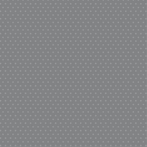 Foundation Paper - Plaid / Dots - Grey