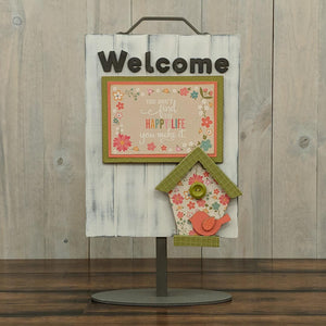 Welcome Birdhouse