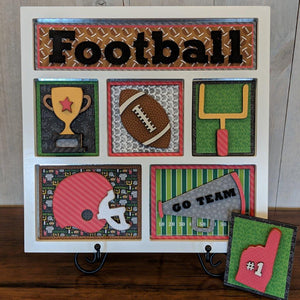 Football Shadow Box Kit