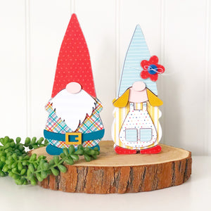Gnome Couple - Olive & Odi