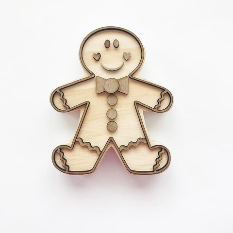 Gingy the Gingerbread Cookie