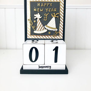 Block Countdown - January / Happy New Year