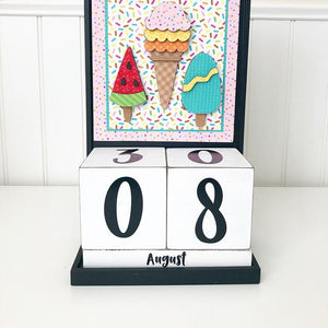 Block Countdown - August / Summer Treats