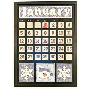 Magnetic Calendar - January