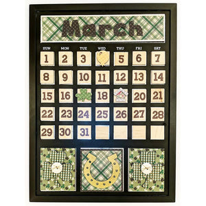 Magnetic Calendar - March
