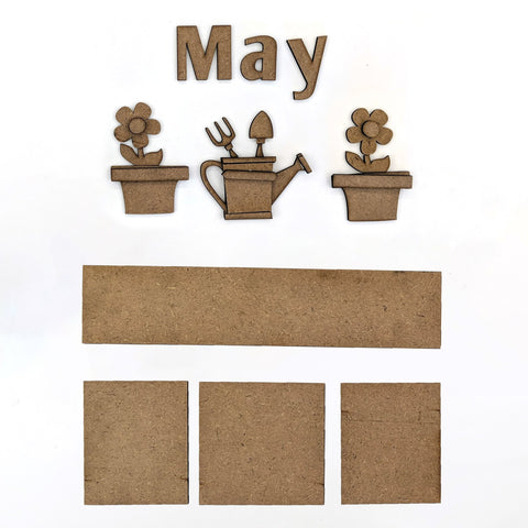 Magnetic Calendar - May