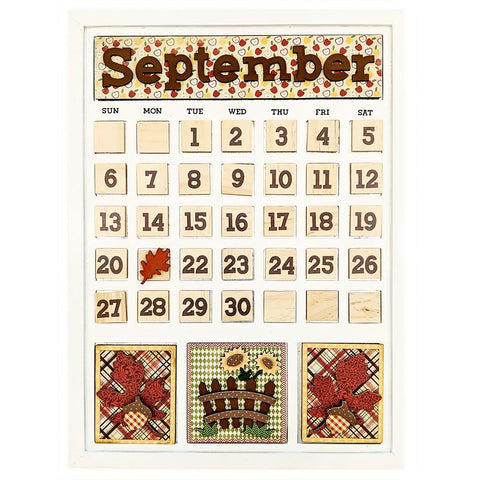 Magnetic Calendar - September