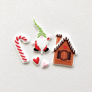 Home for Christmas -  Silicone Tags