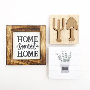 Tray - May Kit (Home Frame, Garden, Shovels)