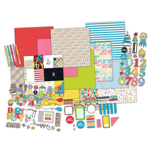Fancy Pants Designs - Happy Birthday and My Birthday Layouts Kit