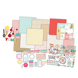 Fancy Pants Designs - Spring and YUM! Layouts Kit