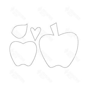 "SVG File - Home - Sept ""O"" -  Apple"
