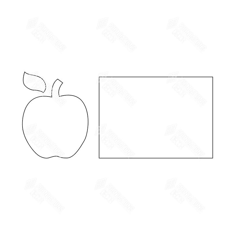 SVG File - Welcome Sign - Sept Apple