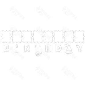 SVG File - Birthday Banner
