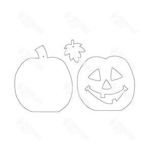 "SVG File - Home - Oct ""O"" Jack-O-Lantern"