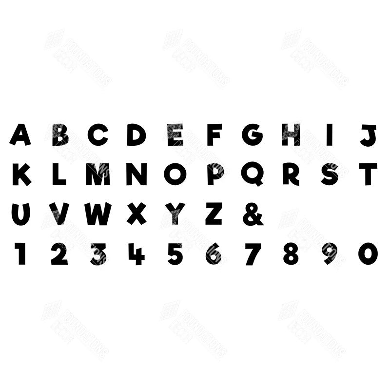 SVG File - Alphabet