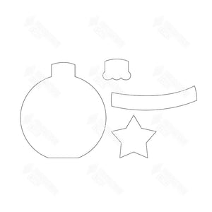 "SVG File - Home - Dec ""O"" Ornament"