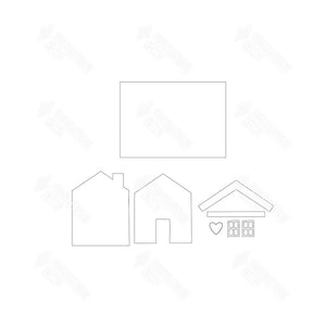 SVG File - Welcome Sign - House