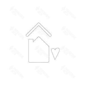 SVG File - Family House