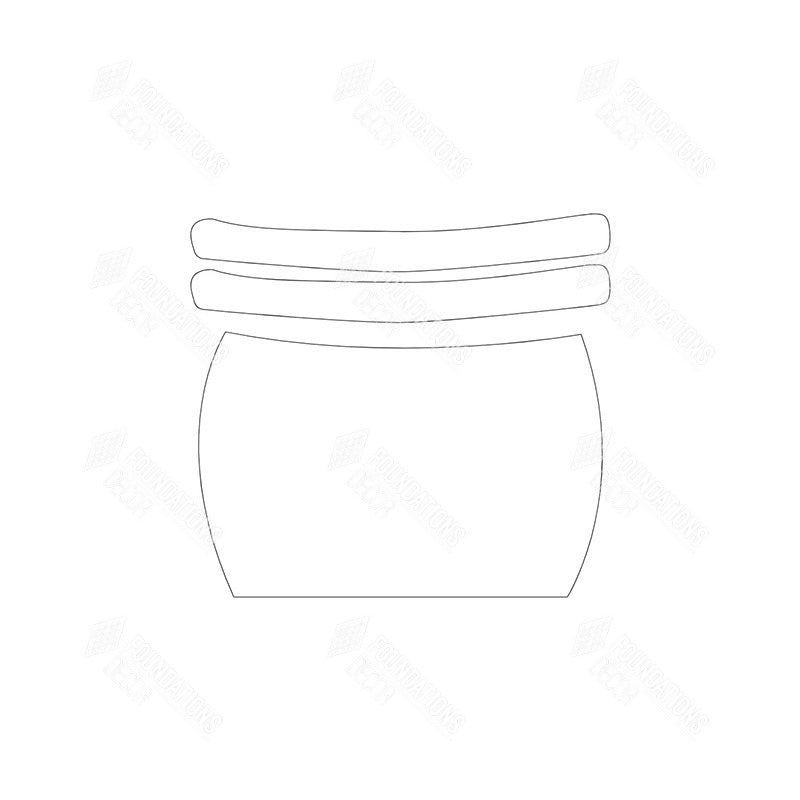 SVG File - Barrel with Rings