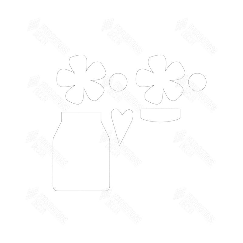 SVG - Flower Jar