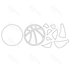 SVG File - Basketball