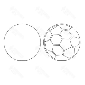 SVG File - Soccer Ball