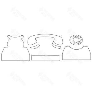 SVG File - Telephone