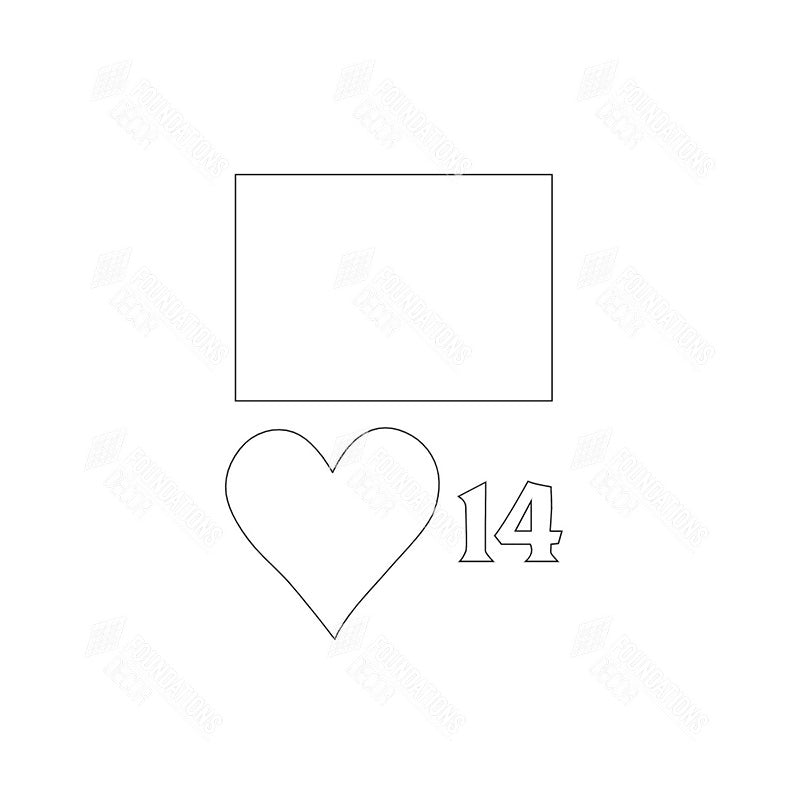 SVG File - Welcome Sign - Feb Heart 14